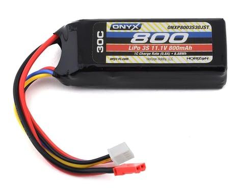 Onyx 3s 30C LiPo Battery w/JST Connector (11.1V/800mAh)