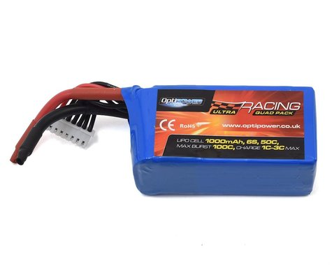 Optipower 6S 50C LiPo Battery (22.2V/1000mAh)
