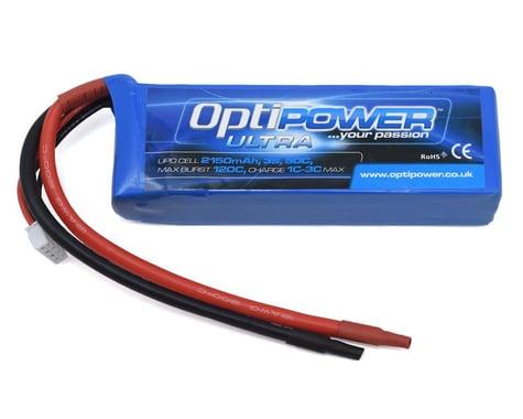 Optipower 3S 50C LiPo Battery (11.1V/2150mAh)