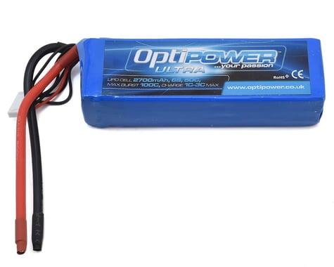 Optipower 6S 50C LiPo Battery (22.2V/2700mAh)