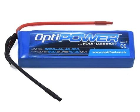 Optipower 4S 30C LiPo Battery (14.8V/5000mAh)
