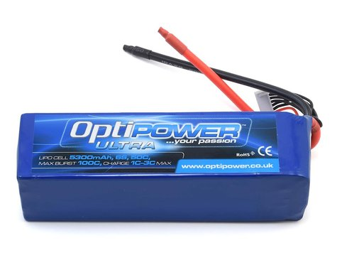 Optipower 6S 50C LiPo Battery (22.2V/5300mAh)