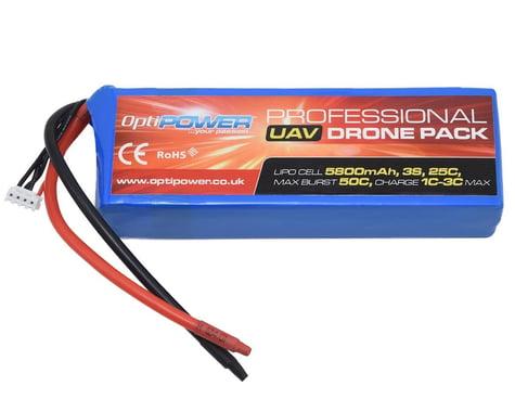 Optipower 3S 25C LiPo Battery (11.1V/5800mAh)