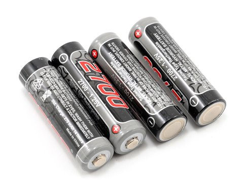 Team Orion NiMH AA Loose Battery Cells (1.2V/2700mAh) (4)