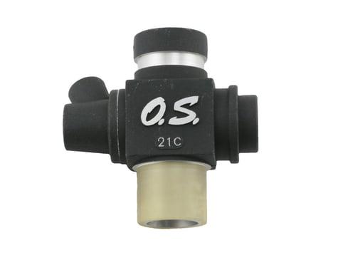 O.S. Carburetor Body 21C (.21 VZ-B V-Spec)
