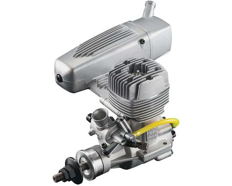 O.S. GGT15 15cc Gas/Glow Ignition 2-Cycle Engine with Muffler