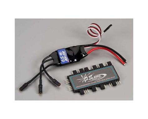 OCA-230 30A 25V ESC with OCP-2 Programming Card