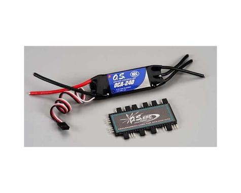 OCA-240 40A 25V ESC with OCP-2 Programming Card