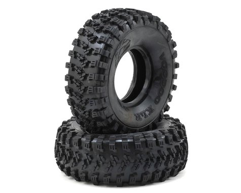 "Team Ottsix Racing Voodoo KLR 1.9"" Crawler Tires (2) (No Foam) (Silver)"