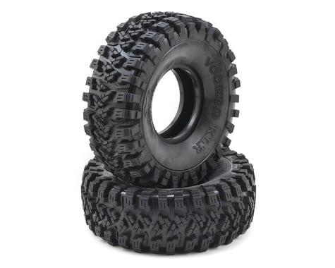 "Team Ottsix Racing Voodoo KLR 2.2"" Crawler Tires (2) (No Foam) (Silver)"
