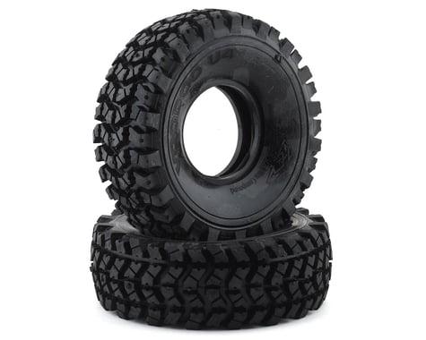 "Team Ottsix Racing Voodoo U4 2.2"" Crawler Tires (2) (No Foam) (Red)"