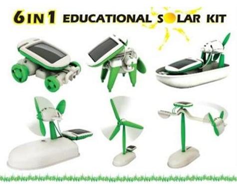 Owi /Movit 6 In 1 Educational Solar Kit