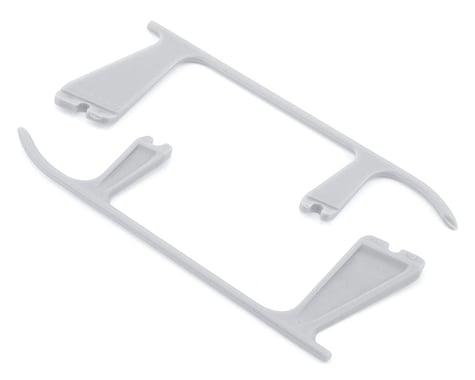 OXY Heli Plastic Landing Gear Skid Left & Right (White)
