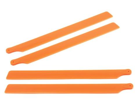OXY Heli Plastic Main Blade 210mm (Orange) (2)