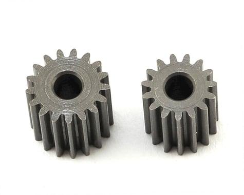 OXY Heli Straight Pinion Set (2.5mm Motor Shaft) (15,17T)