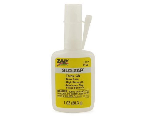 Pacer Technology Slo-Zap CA Glue (Thick) (1oz)