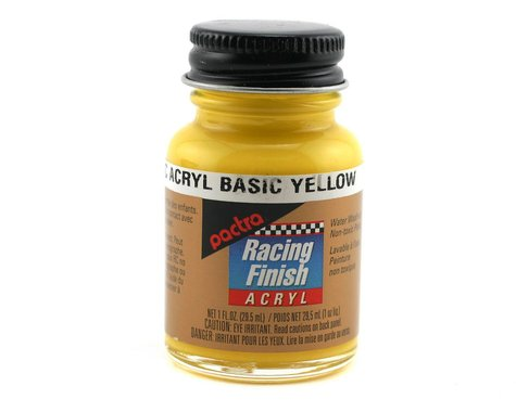 Pactra Yellow Acrylic Paint (1oz)