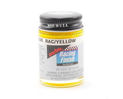 Pactra Race Yellow Fluorescent Paint (2/3oz)