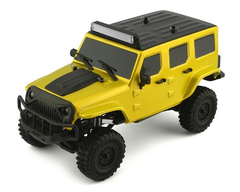 Panda Hobby Tetra X1 1/18 RTR Scale Mini Crawler w/2.4GHz Radio (Yellow)
