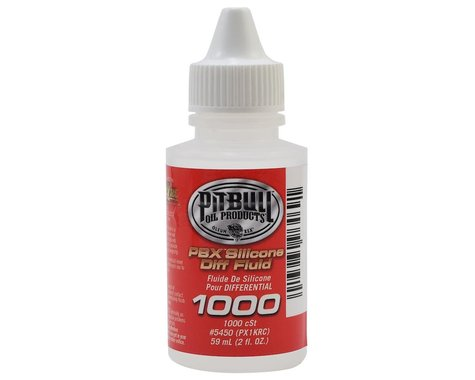 Pit Bull Tires PBX Silicone Differential Fluid (2oz) (1,000cst)