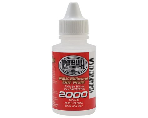Pit Bull Tires PBX Silicone Differential Fluid (2oz) (2,000cst)