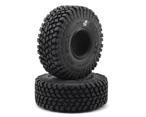 """Pit Bull Tires Growler AT/Extra 1.9"""" Scale Rock Crawler Tires (2) (Alien)"""