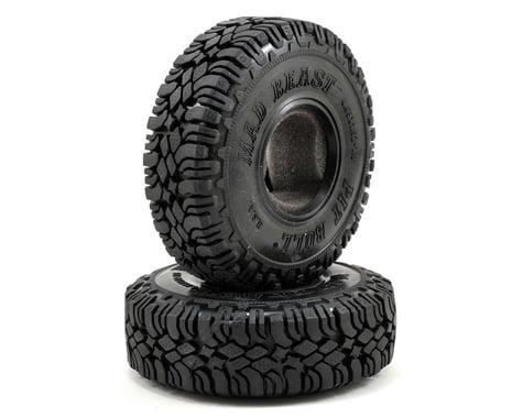 "Pit Bull Tires Mad Beast 1.9"" Scale Rock Crawler Tires (2) (Komp)"