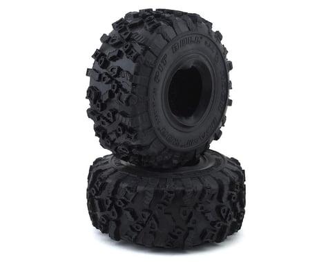 """Pit Bull Tires Rock Beast XOR 1.55"""" Scale Rock Crawler Tires w/Foams (2) (Alien)"""