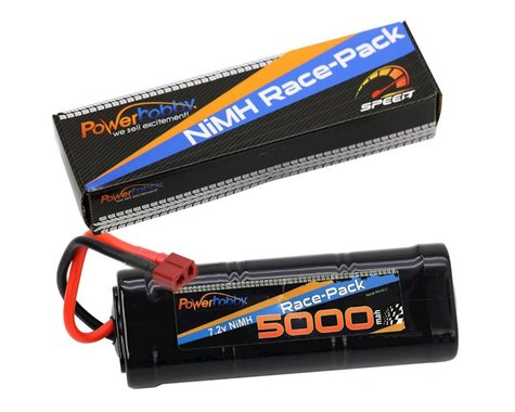 Power Hobby 7.2V 6-Cell 5000mAh NiMH Flat Battery Pack with Deans Plug PHBPH1511
