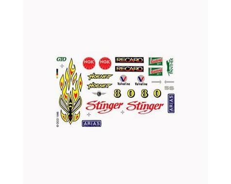 PineCar Dry Transfer,Stinger