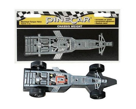 PineCar Maximum Torque Chassis Weight