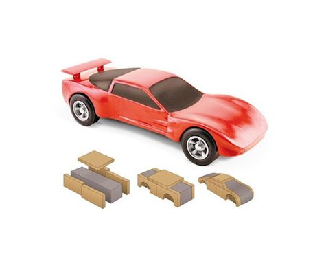 PineCar Body Building Kit
