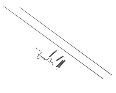 ParkZone Elevator & Rudder Pushrod Set