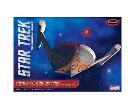 Round 2 Polar Lights Star Trek Romulan Bird of Prey 1/1000 Scale Model Kit