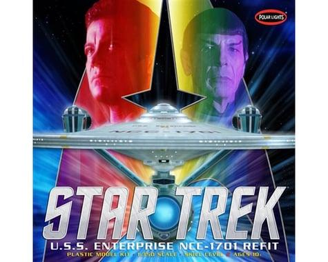 Round 2 Polar Lights Star Trek U.S.S. Enterprise Refit