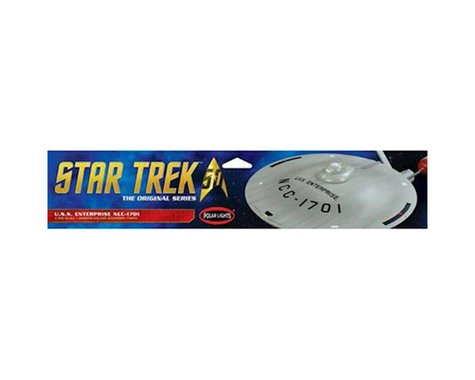 Round 2 Polar Lights Star Trek TOS U.S.S. Enterprise Smooth Saucer