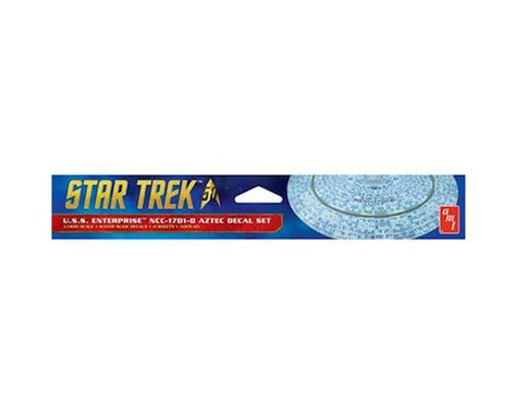 Round 2 Polar Lights Star Trek U.S.S. Enterprise 1701-D Aztec Decals
