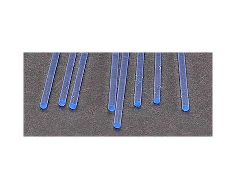 "Plastruct FARB-3H Fluor Blue Rod,3/32"" (8)"