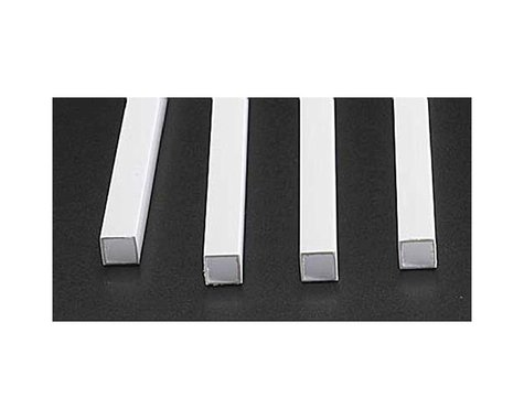 "Plastruct STFS-12 Square Tubing,3/8""(4)"