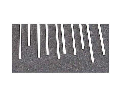 Plastruct MS-408 Rect Strip,.040x.080 (10)