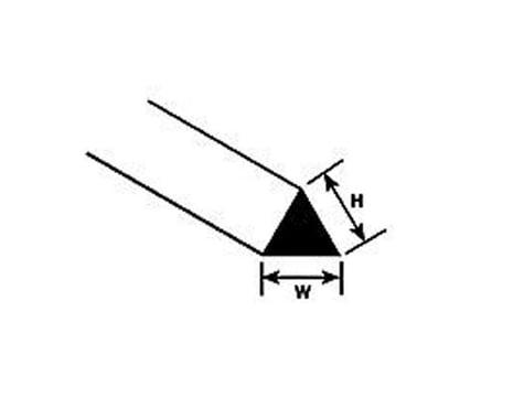 Plastruct MRT-40 Triangular Rod,.040 (10)