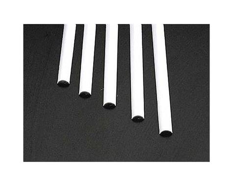 Plastruct MRH-250 Half-Round Rod,.250 (5)