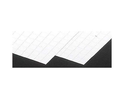 "Plastruct PS-45 Square Tiles,1/2"" (2)"