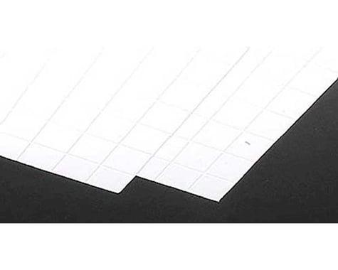 Plastruct 1 White Square Tile Plastic Pattern Sheet (2)
