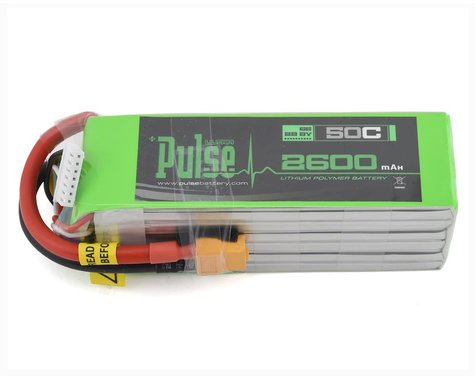 PULSE Ultra Power Series 6S LiPo Battery 50C (22.2V/2600mAh)
