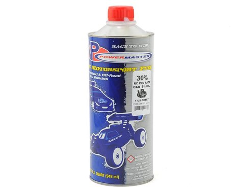 PowerMaster Pro Race 30% Car Fuel (9% Castor/Synthetic Blend) (One Quart)