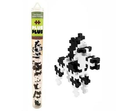 Plus-Plus - Mini Maker Tube - Zebra - 70 pcs
