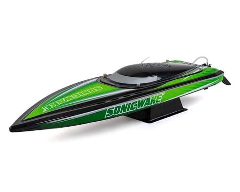 "Pro Boat Sonicwake 36"" RTR Deep-V Brushless Boat (Black)"