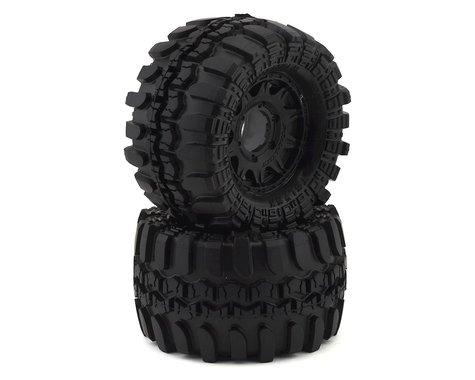 "Pro-Line Interco TSL SX Super Swamper 2.8"" Pre-Mounted Tires w/Raid Rear Wheels (M2)"