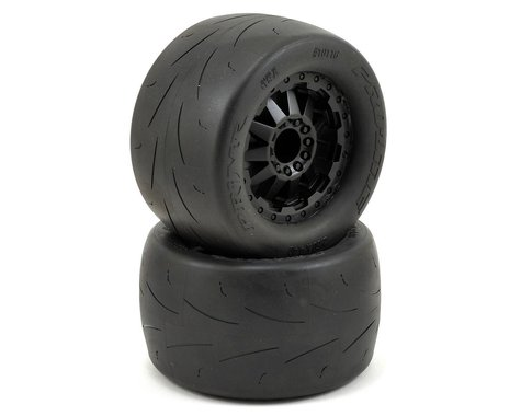 "Pro-Line Prime 2.8"" Pre-Mounted Tires w/F-11 Nitro Rear Wheels (2) (Black) (M2)"